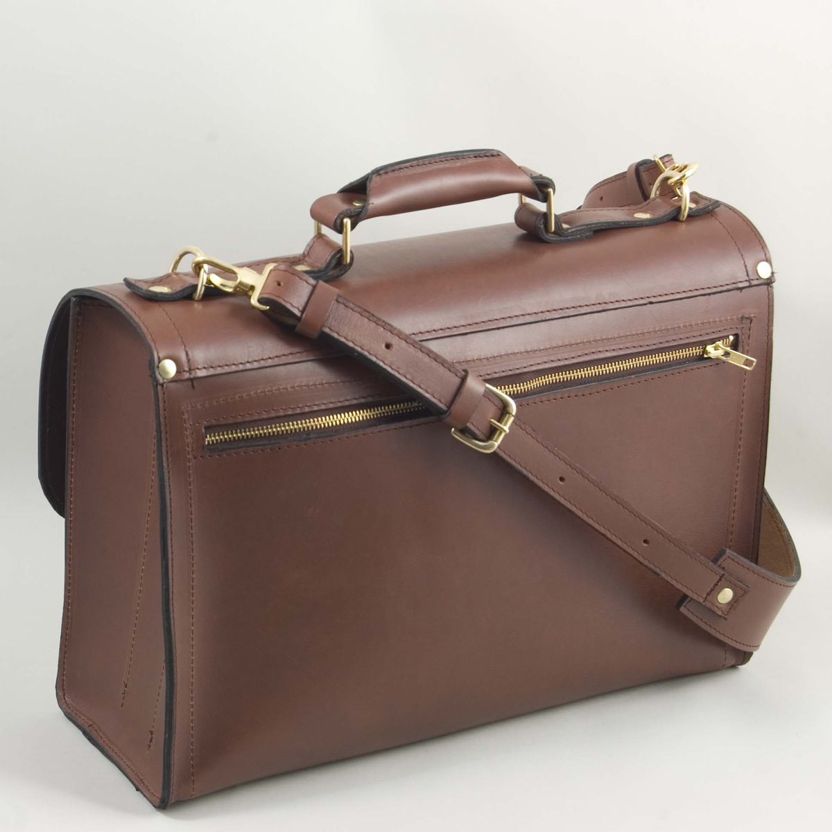 Briefcase Satchel Back