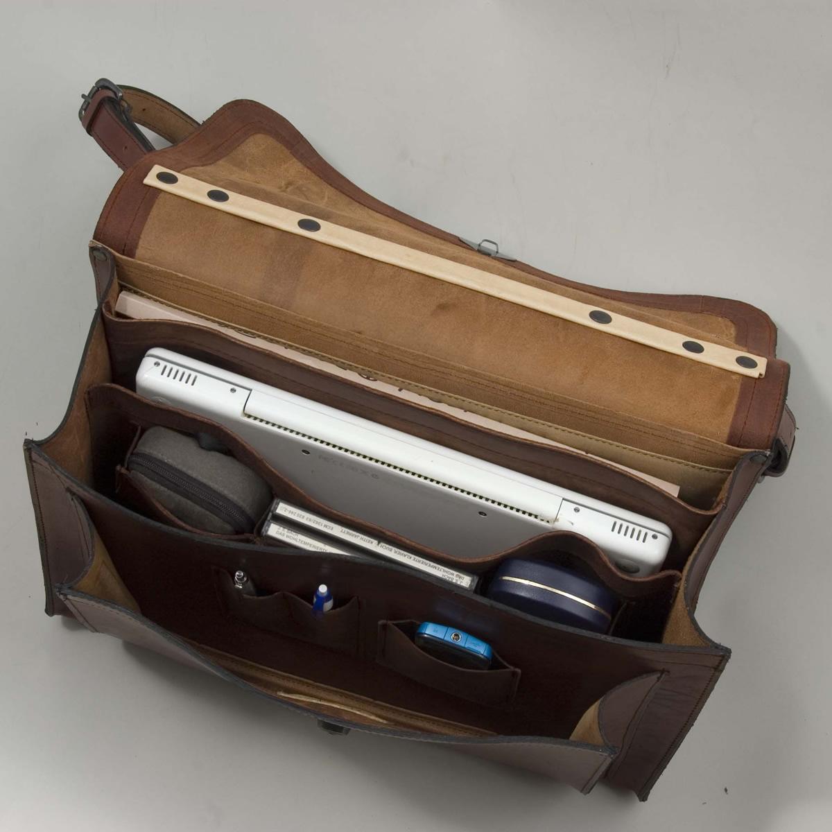 Briefcase Satchel Inside
